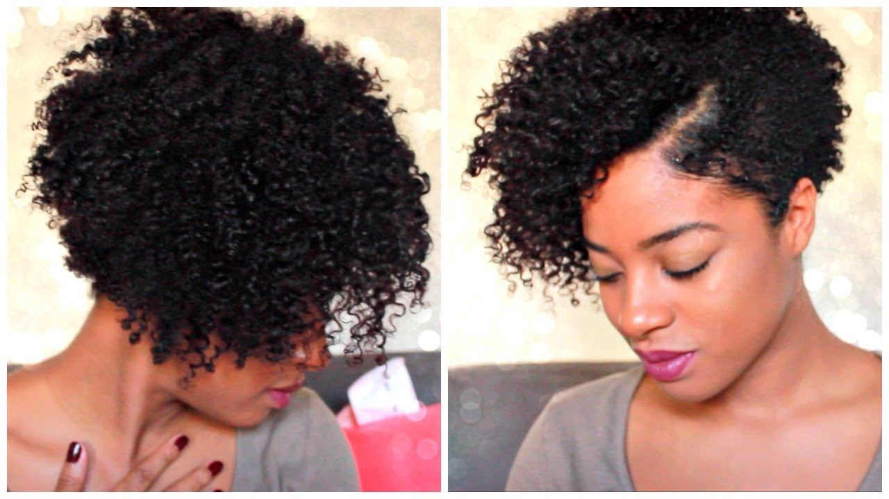 short haircuts for natural hair twist out tutorial on tapered hair give away 1084 | maxresdefault