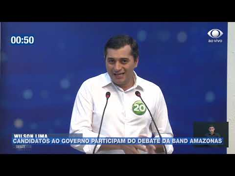 Candidatos ao governo participam do debate da Band Amazonas
