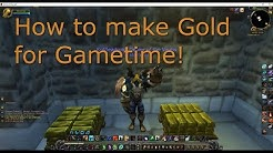Fast easy gold for WoW game time or to buy Battle for Azeroth expansion