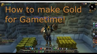 Wow gold making strategy guide available here: https://amzn.to/2znrf0y hello guys, this is just a quick method i have been using to buy game time and play wo...
