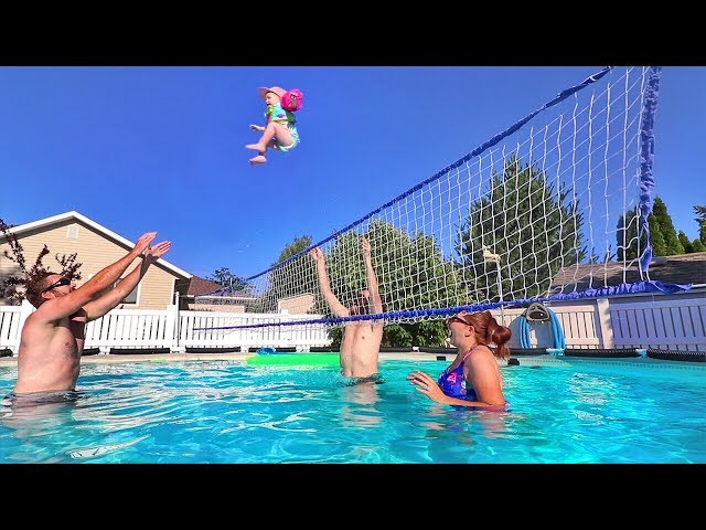 Volleyball with a BABY?!!