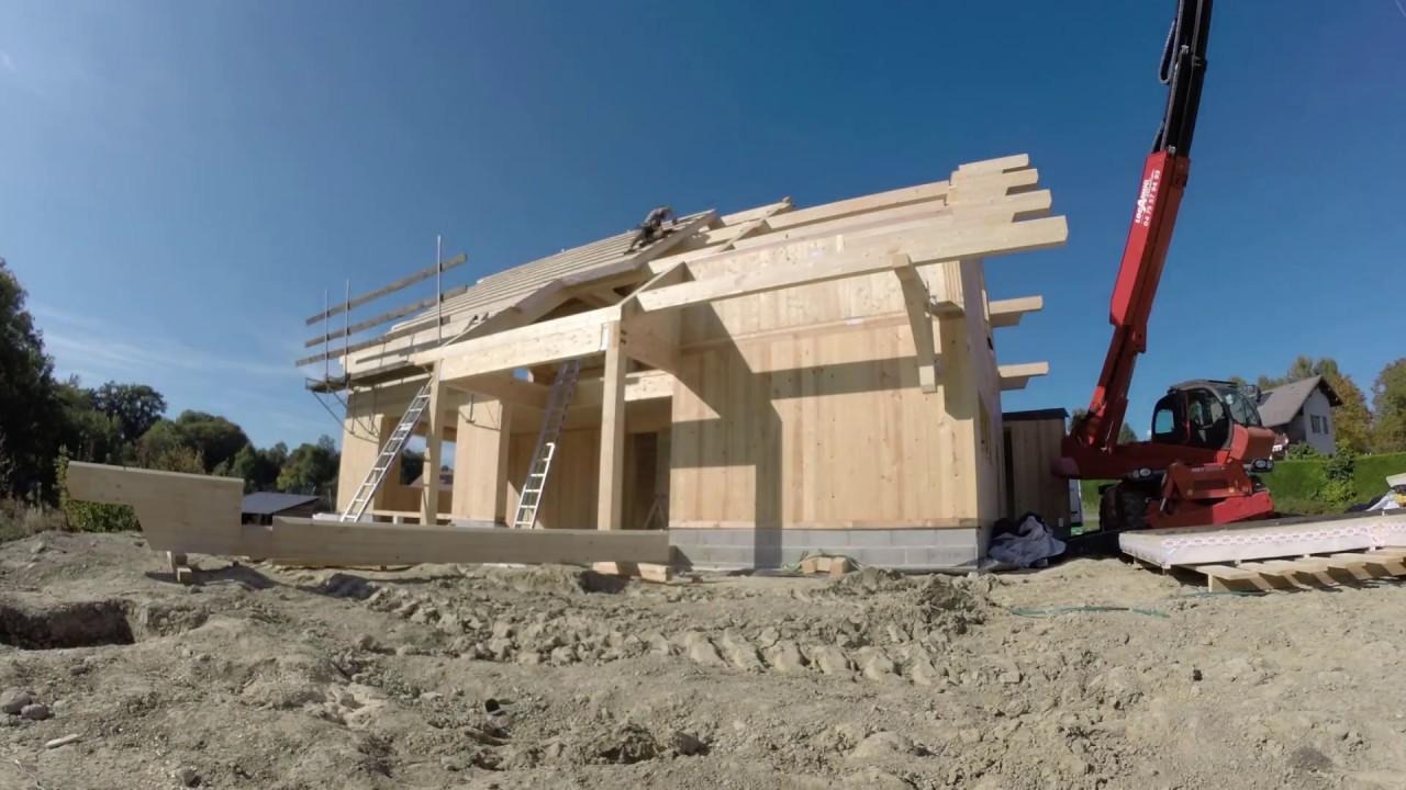 Maison passive en bois massif CLT à Evires - Racinéo Construction ...