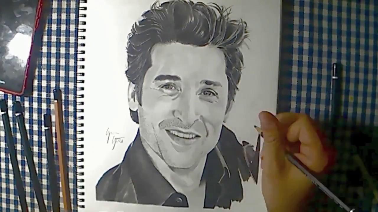 Drawing Patrick Dempsey