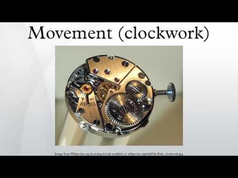 Movement (clockwork)