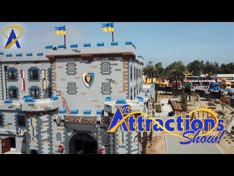 The Attractions Show! - Legoland Castle Hotel; Lego Star Wars Days; latest news