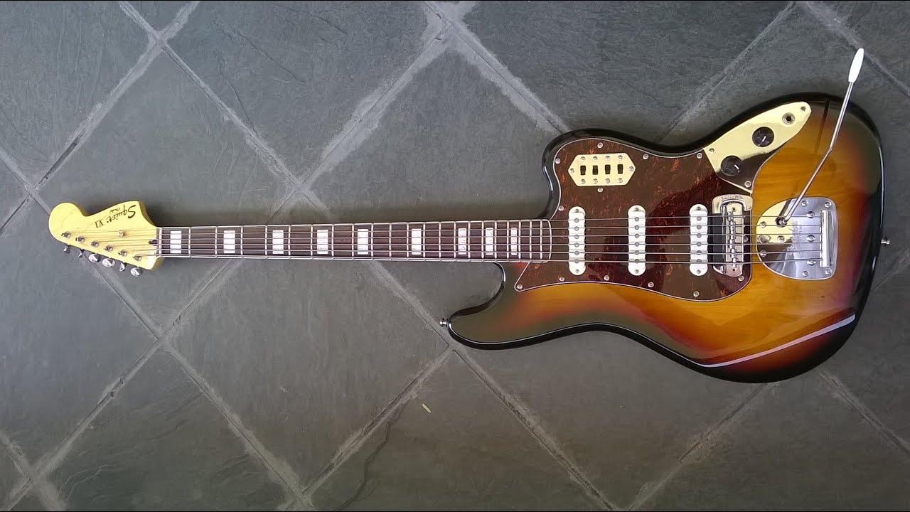 Fender Squier Vm Bass Vi  Fender Mute