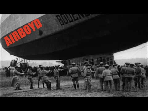 Army Air Service Recruiting Film - Balloon And Airship Division