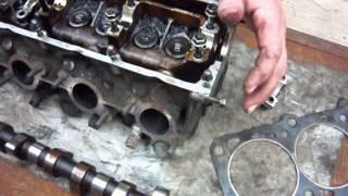 ремонт двигателя 1. volvo 740