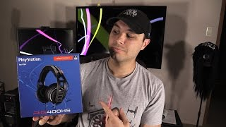Plantronics RIG 400HS unboxing and review