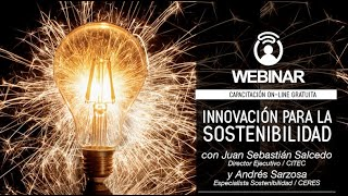 Webinar CERES  Innovación para la Sostenibilidad