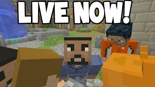 LIVE! - Minecraft Xbox - BATTLE Mode! w/ Subscribers! - COME JOIN ME!