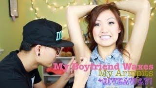 One of ilikeweylie's most viewed videos: TAG: My Boyfriend Waxes My Armpits | ilikeweylie
