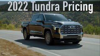 How Much is the New 2022 Toyota Tundra?