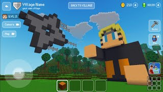 Block Craft 3D: Building Simulator Games For Free Gameplay#919 (iOS & Android) | Naruto 🍥 Statue screenshot 5
