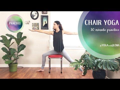 Chair Yoga || Yoga With Ilona