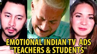 BEST EMOTIONAL INDIAN TV ADS TEACHERS & STUDENTS | Reaction by Jaby Koay & Miriam Macip!