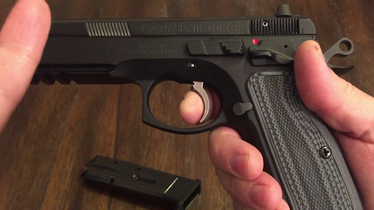 Cz75 sp01 short reset kit cgw
