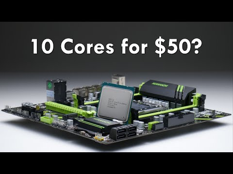 10 Core Budget Gaming With Intel Xeon And Socket 2011