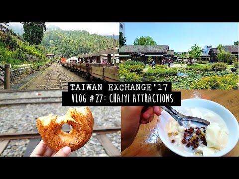 TAIWAN EXCHANGE | VLOG #27: Exploring CHIAYI!