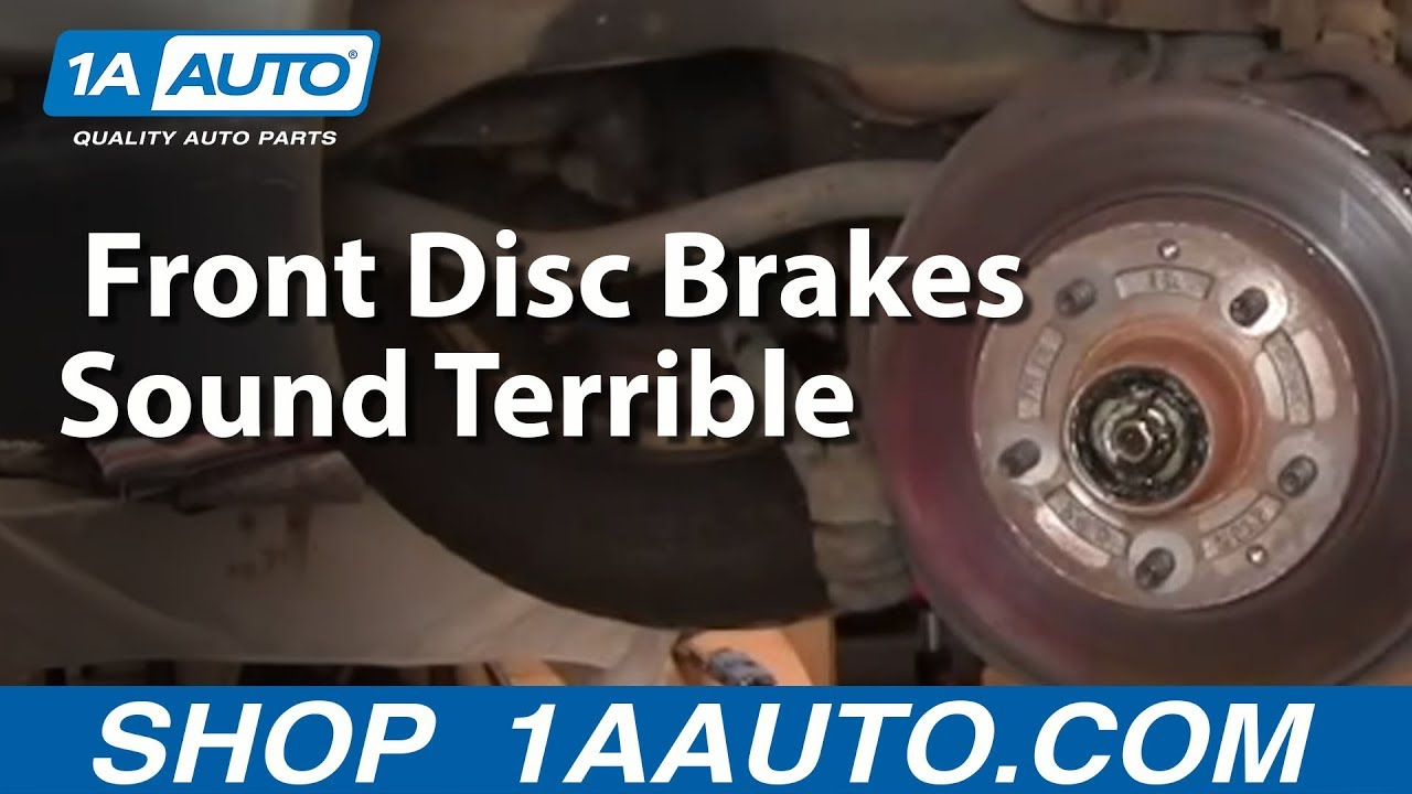 Really Bad Worn Out Front Disc Brakes Sound Terrible Dangerous 2007 Chevy Tahoe Fuel Filter
