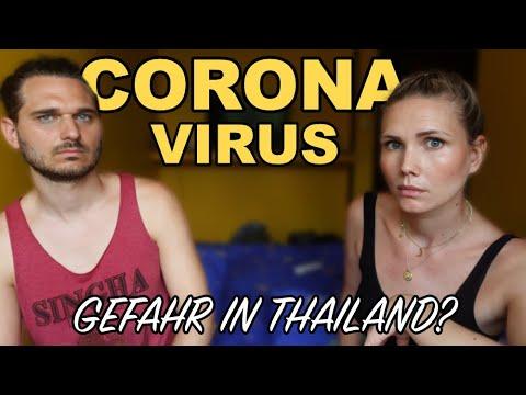 CORONA VIRUS • So Ist Die SITUATION IN THAILAND • Sollte Man Die Reise Absagen?