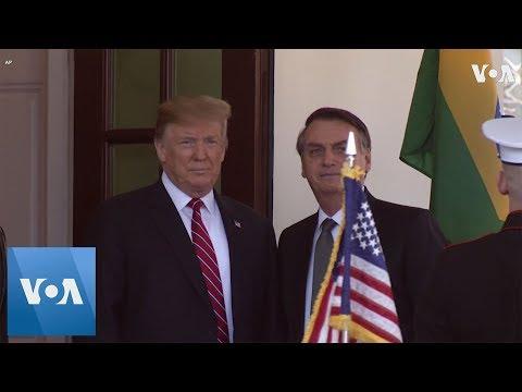 Trump's White House Welcome to Brazil's Bolsonaro