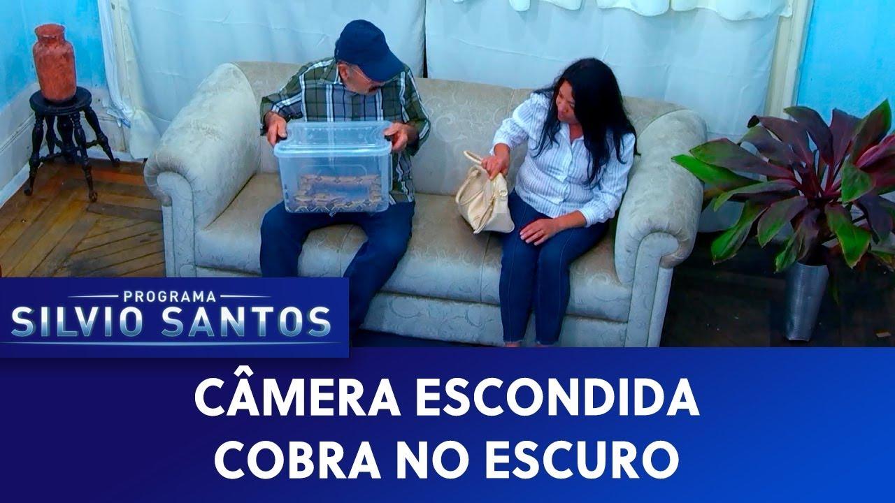 Cobra no Escuro - Snake in the Dark Prank | Câmeras Escondidas (03/11/19)