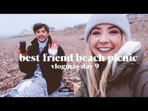 Best Friend Winter Beach Picnic | VLOGMAS