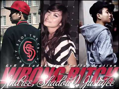 Wrong Bitch - Andree-Right-Hand ft ShadowP & Justa Tee.flv