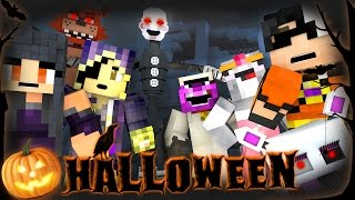 Minecraft FNAF HALLOWEEN HIDE N SEEK!