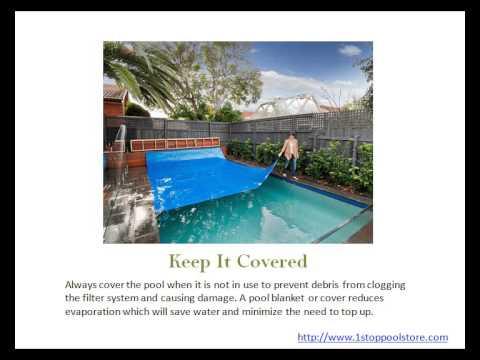 5 Easy DIY Pool Maintenance Tips - YouTube
