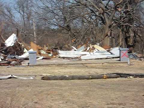 Lone Grove,  Oklahoma Tornado The Aftermath Feb 10, 2009