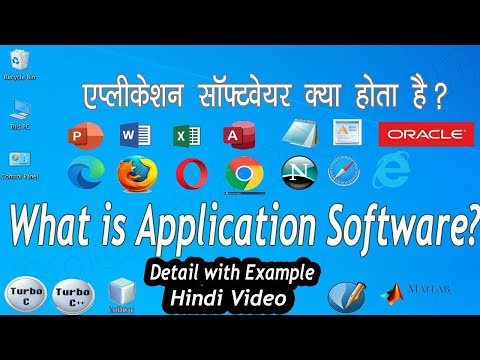 Application Software | Detail with Example | Hindi