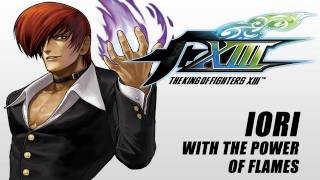 The King of Fighters XIII: Iori with the power of flames