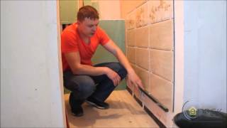 Видео урок  кладка плитки