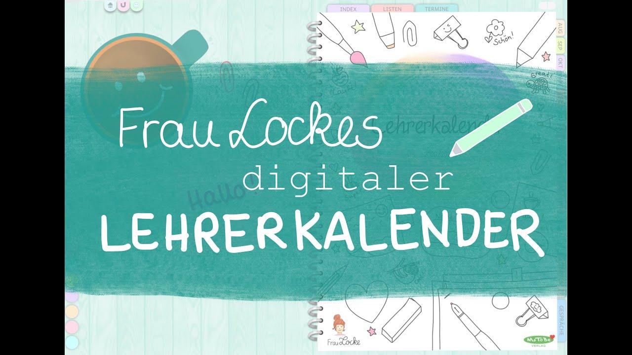Frau Lockes digitaler Lehrerkalender