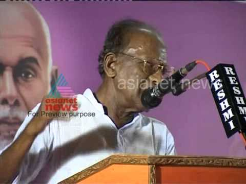 Sukumar Azhikode, The cultural voice of Kerala