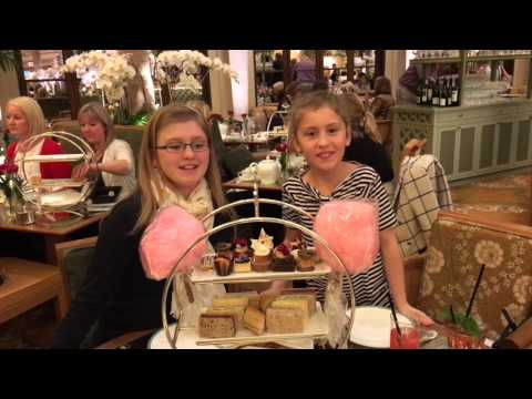 Eloise Tea At The Palm Court, The Plaza Hotel, New York