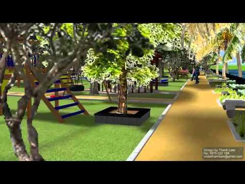 Thiết kế sân vườn, cảnh quan công viên