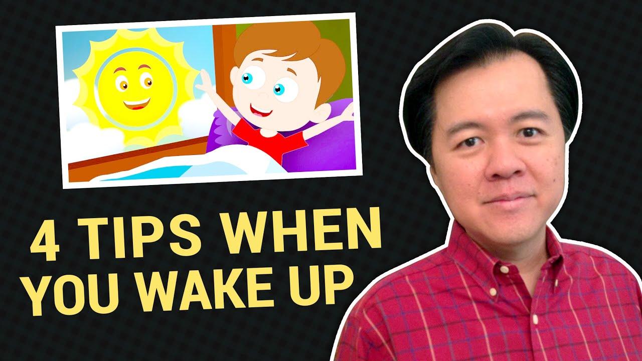 4 TIPS PAG GISING SA UMAGA - Doc Willie Ong #679b