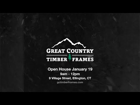 Great Country Timber Frames Open House 2019
