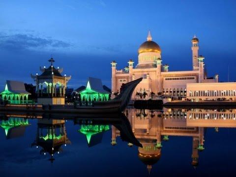 Город Бандар Сери Багаван! столица Брунея!! Bandar Seri City Bhagavan! capital of Brunei!