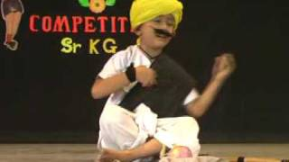 An award winning performance by a sr.kg kid at dance competition. sahil navale - 9422065816 has performed this is based on the act of indian farmer w...
