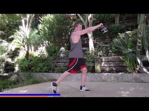 Kettlebell Workout - KB High Intensity Workout