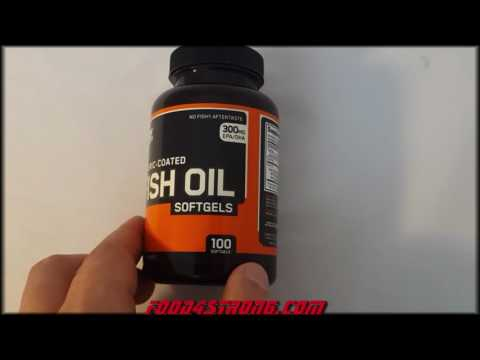 Optimum Nutrition Enteric Coated Fish Oil 100 софтгель ВИДЕО