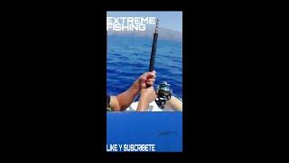 PESCA EXTREMA!!! Blue marlin on broken rod and shimano stella 30.000.