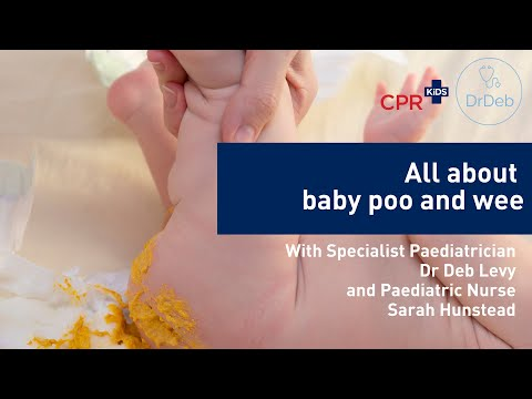 All about baby poop and pee RECORDED LIVE ON FACEBOOK