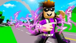 Officer Roofus Becomes A Superhero! A Roblox Movie (Brookhaven RP)