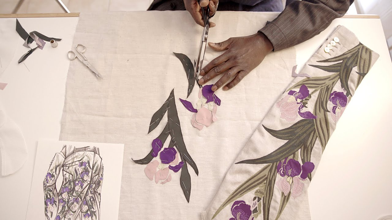 Alta Sartoria embroidered jacket