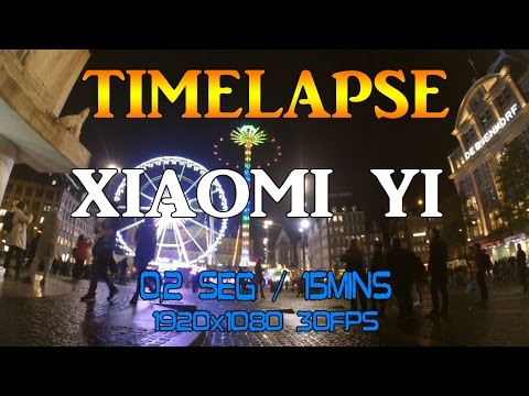 TIMELAPSE AMSTERDAM PLAZA DAM    18 OCT 2015    Xiaomi Yi Camera
